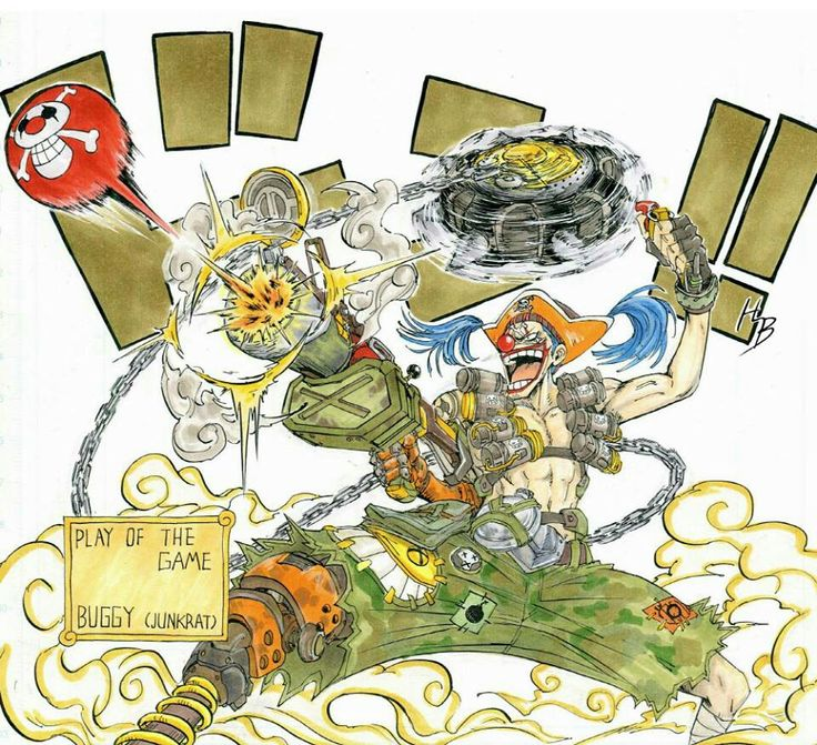 One Piece/Overwatch