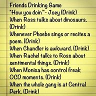 Friends drinking game =)