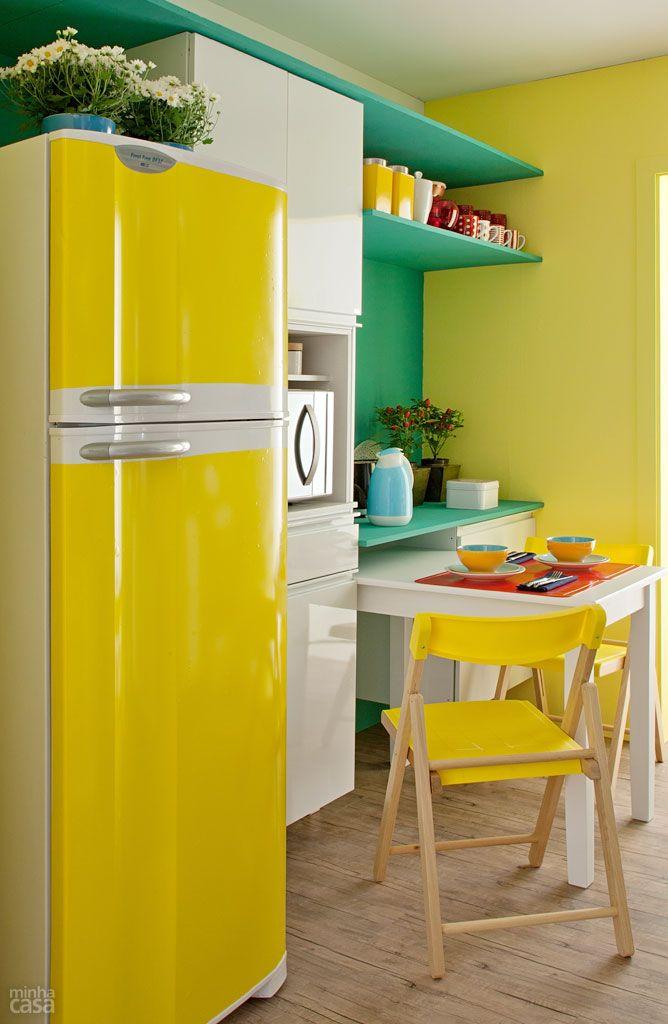 Cozinha com as cores da bandeira do Brasil por 10 x R$ 545