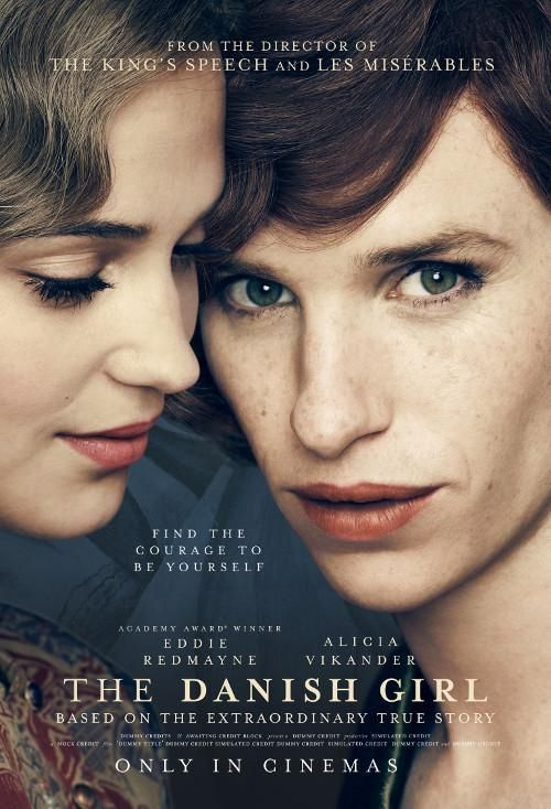 The Danish Girl by Tom Hooper. Venezia72 Competition.  Poster.