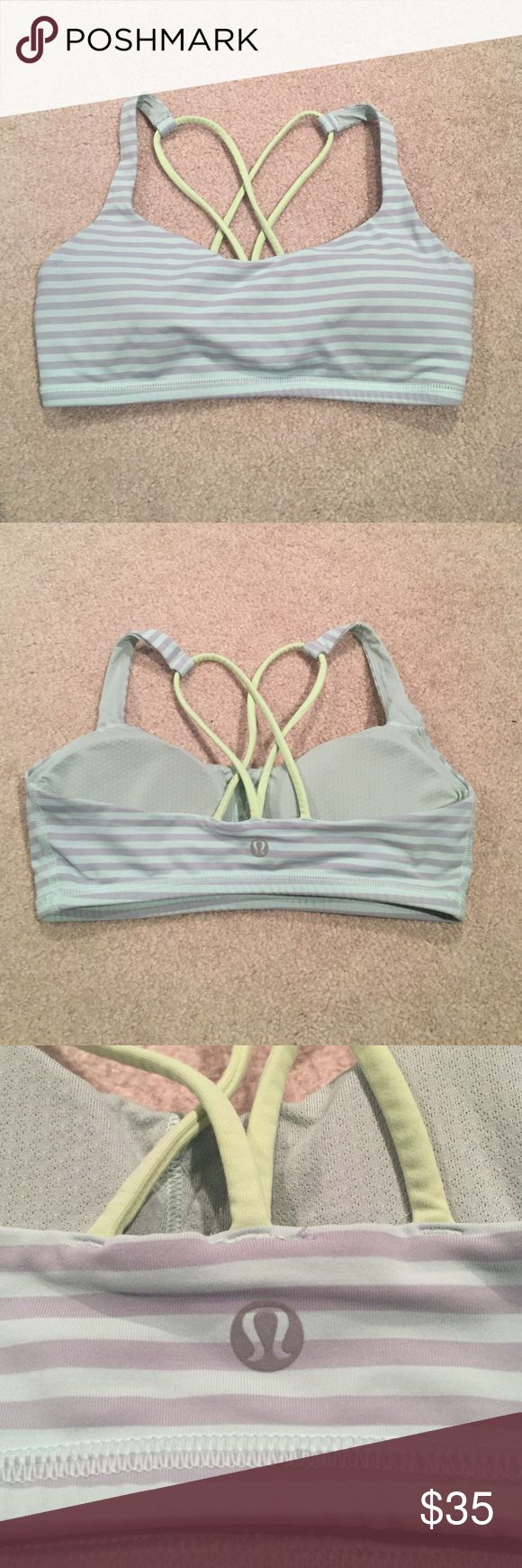 *REDUCED* Lululemon Free to Be Sports Bra This cute sports bra is NWOT as it was never worn and is in perfect condition! lululemon athletica Intimates & Sleepwear Bras
