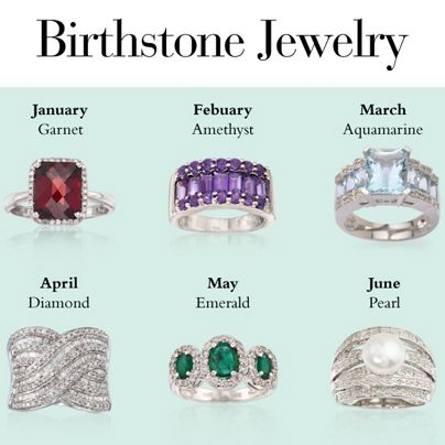 Do you know the birthstone for each month? Here's a quick reference to help you find the right gem. Birthstone Jewelry Infographic #RossSimons #Birthstone #Jewelry #Birthday #Gemstone