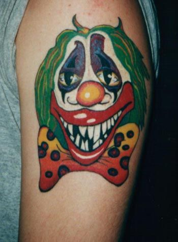 Mexican Clown Tattoos