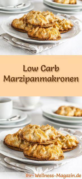 Low Carb Marzipanmakronen – einfaches Plätzchen-Rezept für Weihnachtskekse
