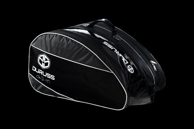Paletero de pádel Duruss Negro #Durusspadel #Duruss #elegancia  #padel www.duruss.com