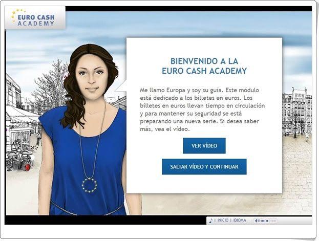 """Día de Europa, 9 de mayo: """"Euro cash academy"""" (Los billetes del euro)"""