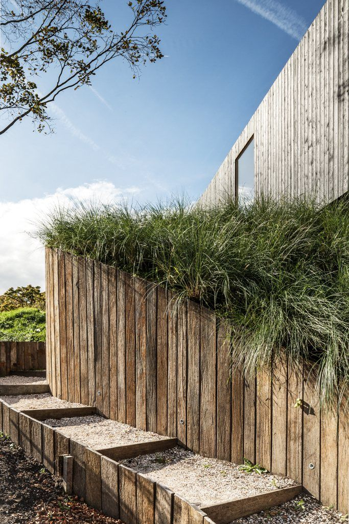 villa v bloemendaal 2011 paul de ruiter architects minimalist garden landscape - Minimalist Landscape Architecture