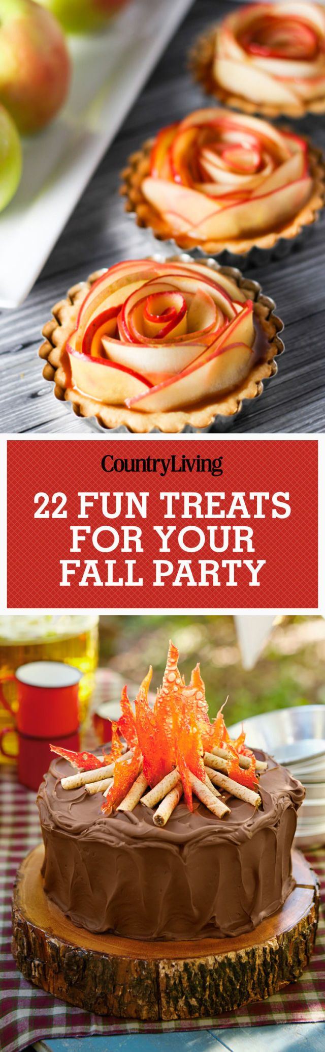 Make these sweet desserts for a Halloween party, or just to celebrate the start of fall.
