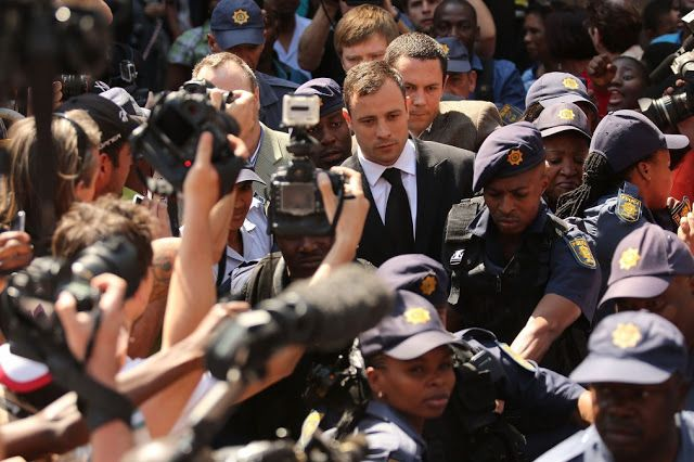 Oscar Pistorius treated in hospital after 'slipping in cell'