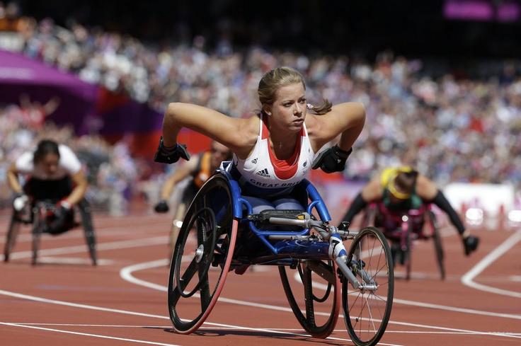 Belleza y coraje en los paralímpicos de Londres 2012