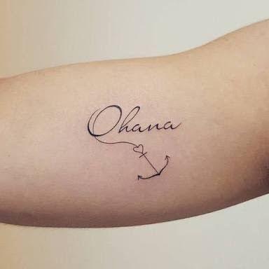 Image result for ohana tattoo