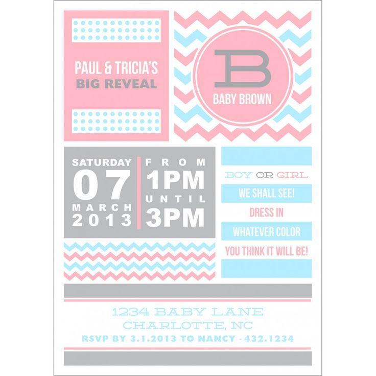 599 besten Baby shower ideas Bilder auf Pinterest | Einladungen ...