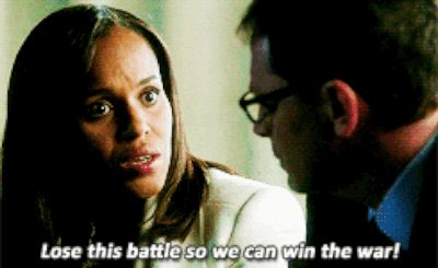 When you're trying to justify to yourself why it's still freezing outside in March: | 12 Olivia Pope Quotes To Live By