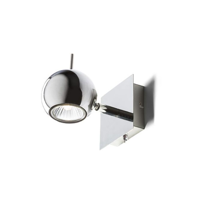 GLOSSY I | rendl light studio | Wall light with a directional reflector. The light can be controlled by a toggle switch at bottom of the fixture. #lights #interior #spotlights #wall