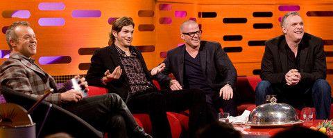 ashton  kutcher Heston and Greg Davies