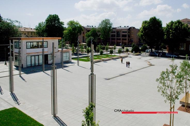 CMArchstudio: Nuova Piazza Repubblica a Collecchio, Parma, I