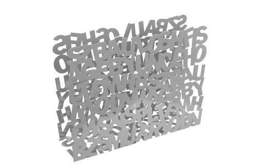 """#Revistero """"ABC"""" Metalico disponible en color blanco y aluminio"""