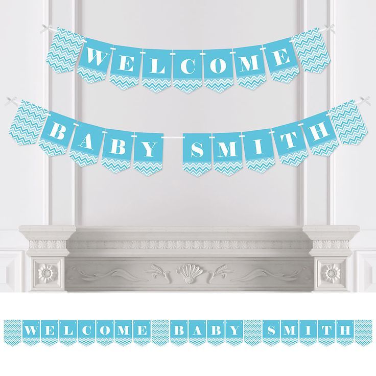 Baby Shower Custom Banners: 17 Best Ideas About Baby Shower Bunting On Pinterest
