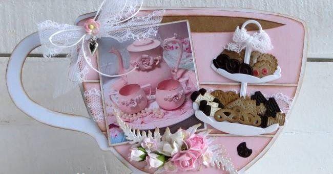 Hallo allemaal,     Weer even een van alles wat blogpost van mij.     Koffie/thee, beestjes en een elfje.        Craftable CR1403 Punch Di...