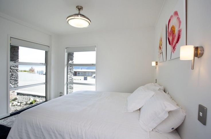 Beautifully light and bright bedroom