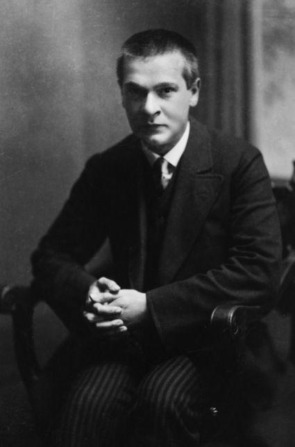 Georg Trakl, Austrian WW1 poet.