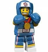 LEGO Olympic Minifigures: Olympic Boxer by LEGO. $24.95. Year: 2012. Collect every gold-medal contender in the Team GB LEGO Minifigures series! Capture the bronze, silver and gold with this all-new, exciting team of 9 Team GB LEGO Minifigures, each with their own special accessories!