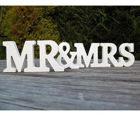 Visit mydeco.com/wedding for your chance to win £ 500 to spend at mydeco #mydecoWeddingFreestanding, White Wooden Mr And Mrs, Painting Letters, Gift Ideas, Mr Mrs, Lindsay Interiors, Decor Plaque, Wooden Letters, Ideas Carr K