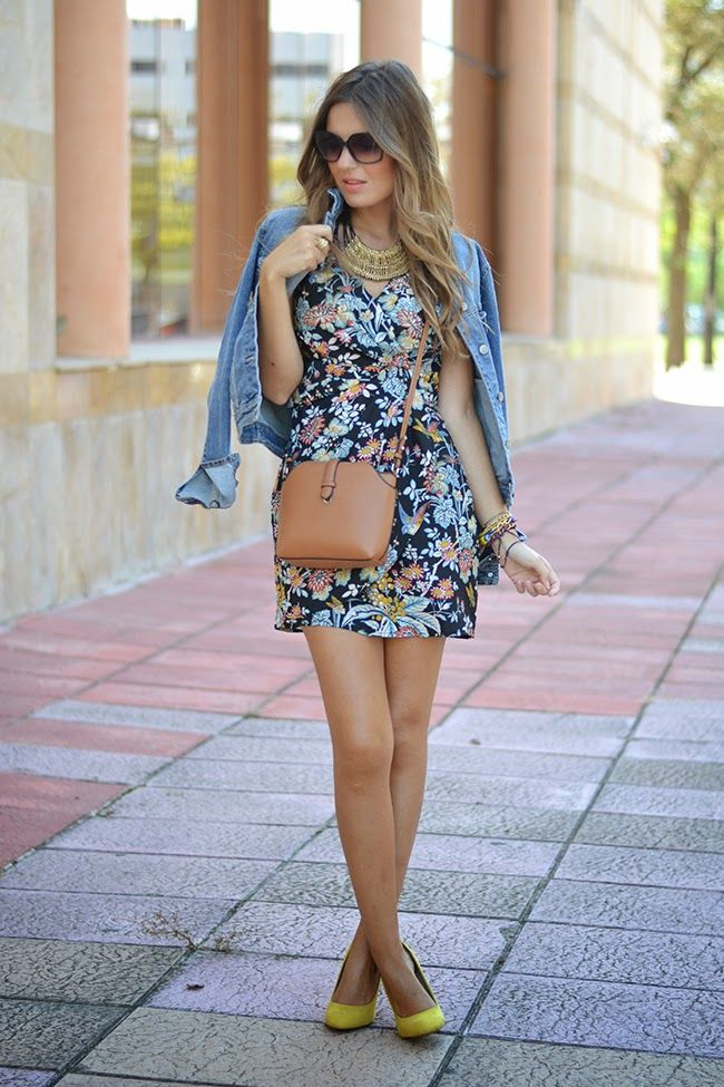 VINTAGE FLORAL DRESS   Mi aventura con la moda