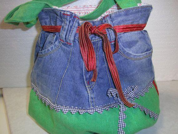 old Jeans,Hosentasche,handmade