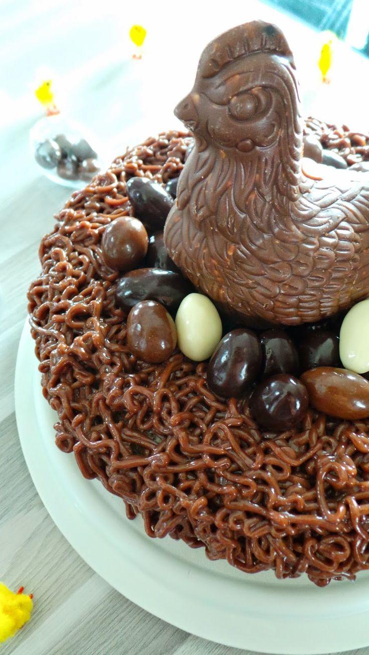 Gâteau de Pâques #pâques