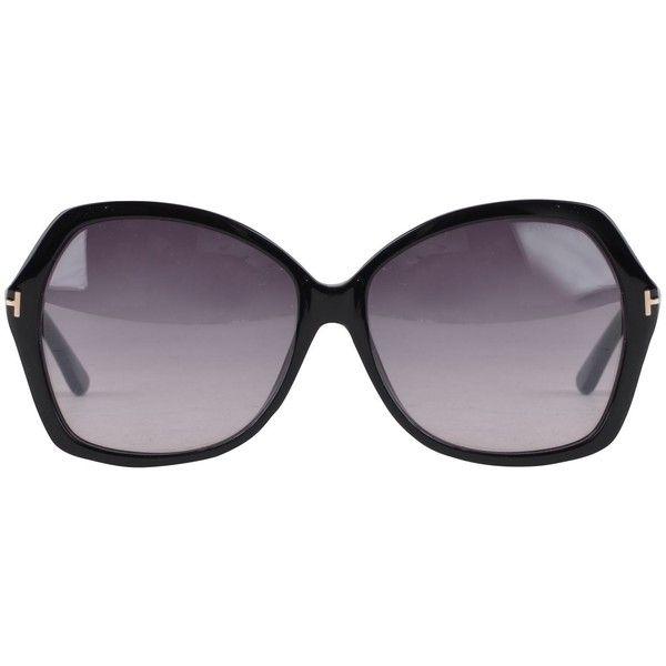 TOM FORD Caro Cat Eye Sunglasses #black #fashion #style
