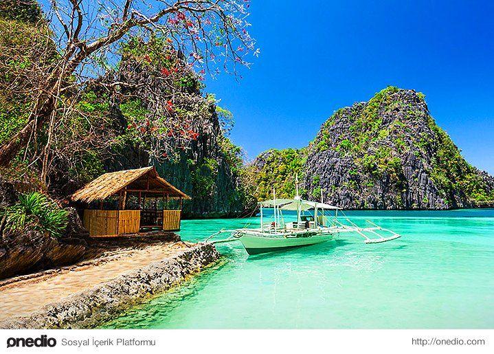 Cennetten bir köşe: Palawan #tatil #ada #seyahat