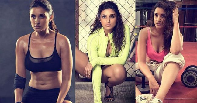 Parineeti Chopra worked way hard to behove the standards of Bollywood. Tapering down her jeans size from 38 to 30 is certainly not a no-sweat achievement, after all. Right?-priyanka chopra weight loss #FitQuote #FitnessMotivation #Fitspo #GetFit #GoalSetting #YouCanDoIt #FitnessGoals #TrainHard #NoExcuses #Health #Fitness
