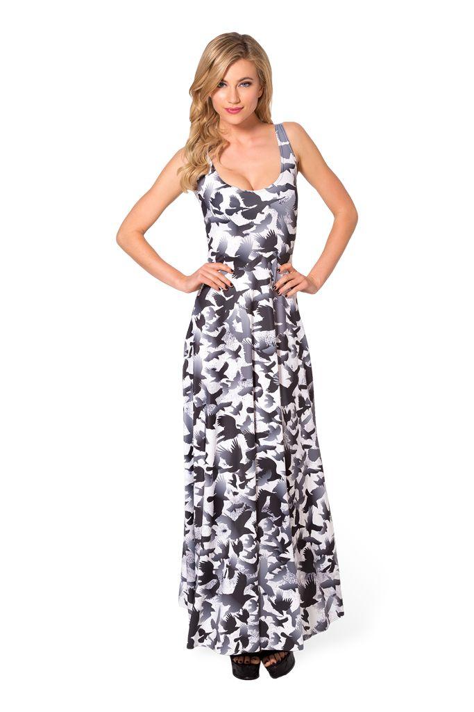 Raven Maxi Dress (48HR) by Black Milk Clothing $125AUD