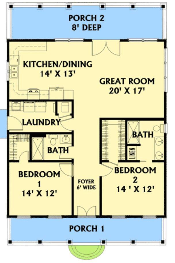 30 X 40 Floorplan
