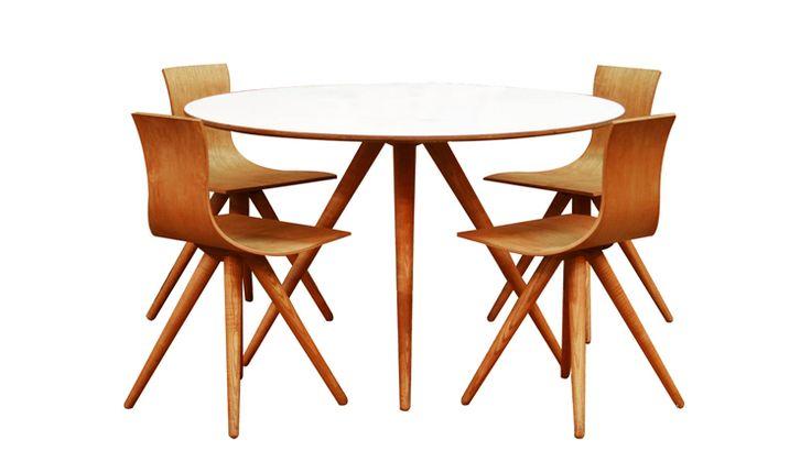 Swiss Plywood Dining Set