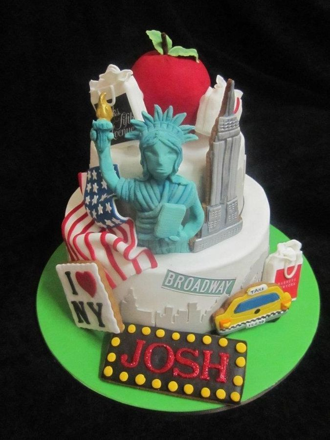15 Best New York Images On Pinterest New York Cake Anniversary