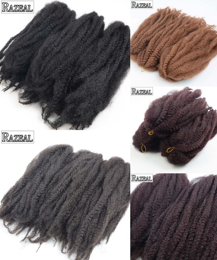 [Visit to Buy] Razeal 18Inch Synthetic Braiding Hair Marley Braid Hair Natural Black Crochet Hair Extension Jumbo 60grms High Temperature  #Advertisement