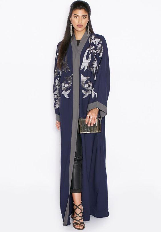 stylish Hayas closet abaya for modest look (4)