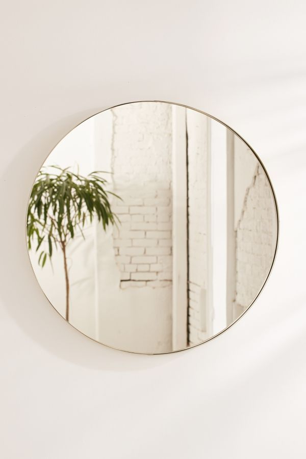 Slide View: 2: Averly Large Circle Mirror