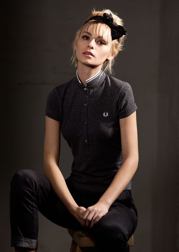 From the Fred Perry Amy Winehouse collection