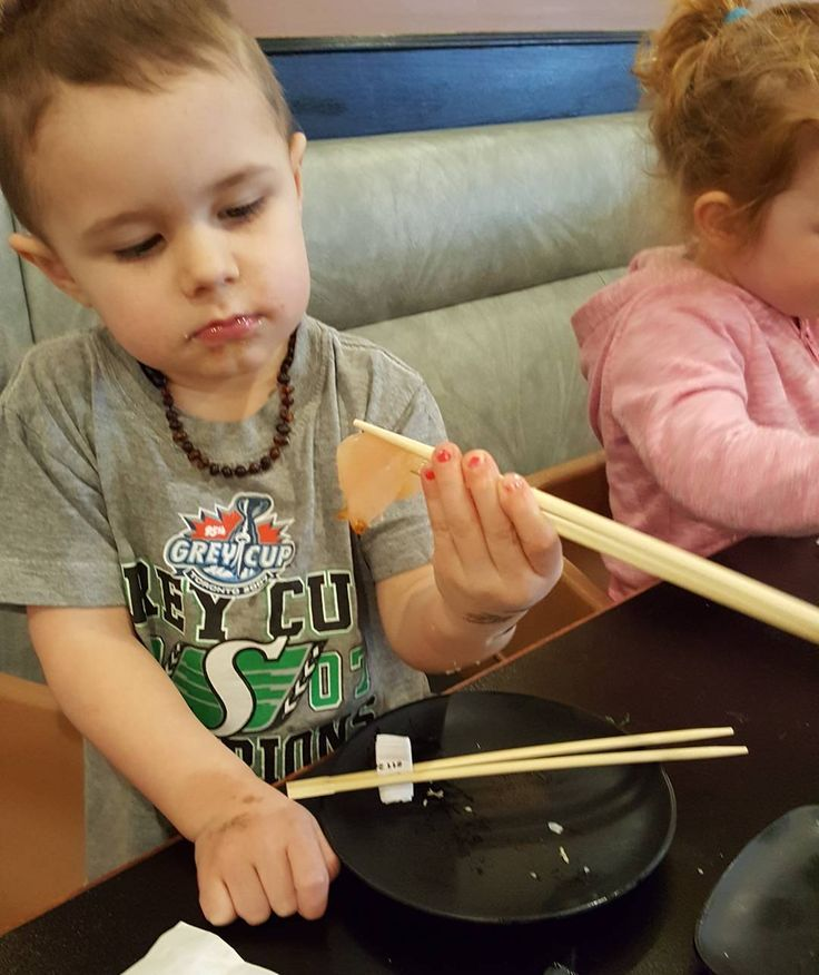 No big deal.  Just eating sashimi with chopsticks.  #littlechef #cultivatingfoodies #cultivatingfoodiesblog #kidswhocook #familycookbook #sashimi #sushi #chopsticks