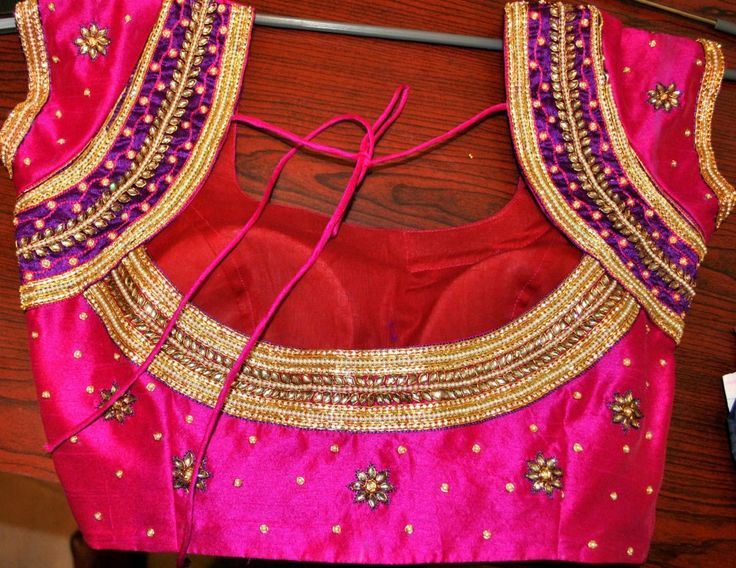 designer blouses with stone work - Google Search