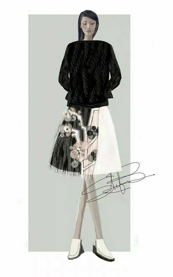 Stefania Belmonte | fashion illustration | my collection