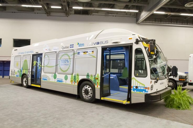 Public transit goes green in the city.