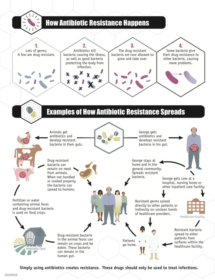 CDCinfographicANTIBIORESISTANCE - Antimicrobial resistance - Wikipedia, the free encyclopedia