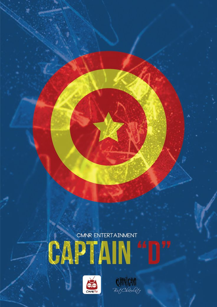 "Captain ""D"" - CMNR Avenger Poster - Design by BotChocolate"