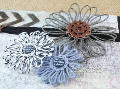 Really Reasonable Ribbon Blog: Twine Flower Tutorial and Father's Day Card
