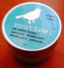 """In Good Health Blog: """"routine"""" is my new routine.  And I love it!!!  I was introduced to this amazing product by my good friend Lisa Scheffelmaier, whom you may know from Decidedly Inspired...  Read more at: http://www.ingoodhealth.ca/1/post/2013/05/the-stinky-truth-3-ingredients-you-need-to-avoid.html"""