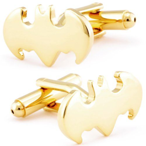 Batman Gold Symbol Cufflinks